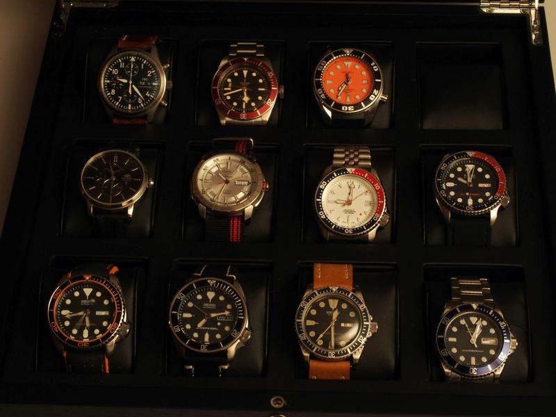 [SUJET UNIQUE] écrin, boîte ou coffret pour ranger les montres... tome II Bam110