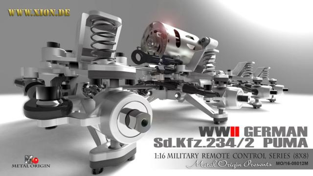 Torro SdKfz 234/2 Puma Bausatz 1:16 Puma-x10