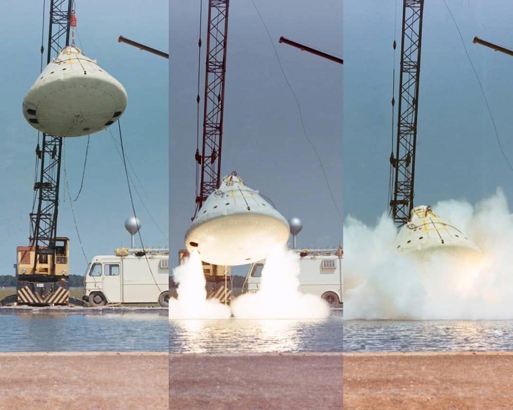 Rétropropulsion sur la capsule Apollo 94178210
