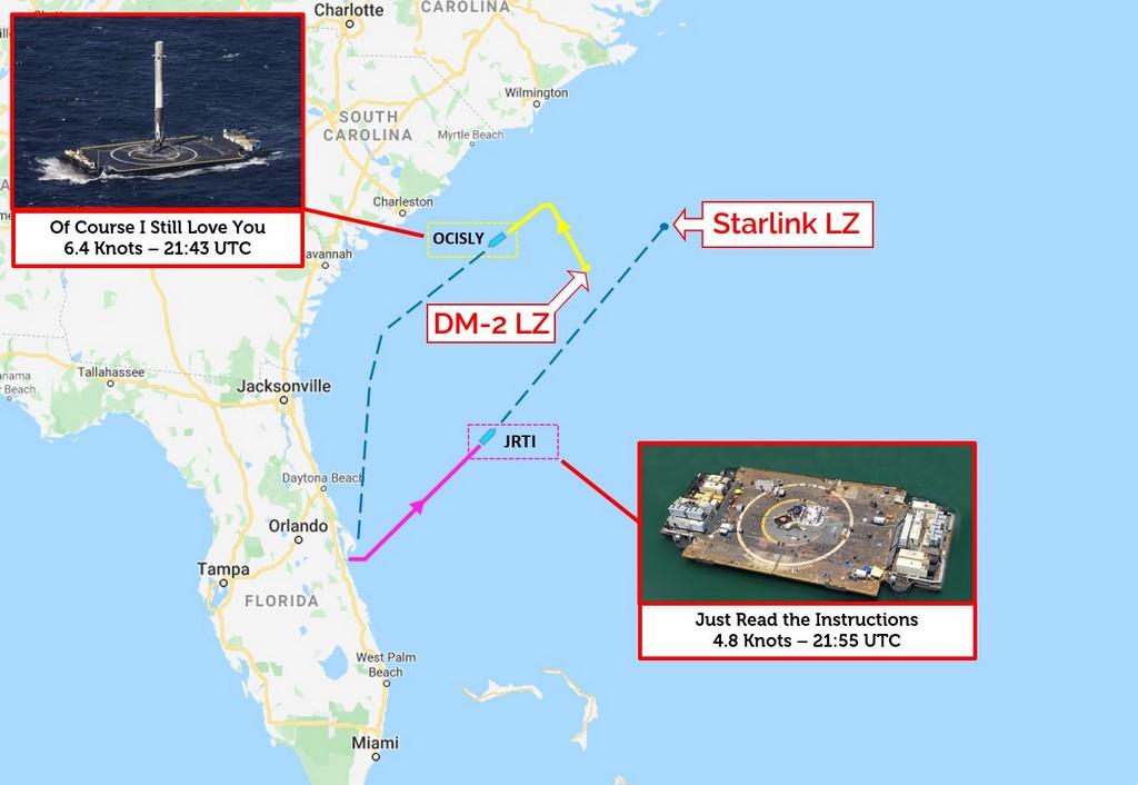 Falcon 9 (Starlink v1.0 L7) - CCAFS - 4.6.2020 - Page 3 Drone_10