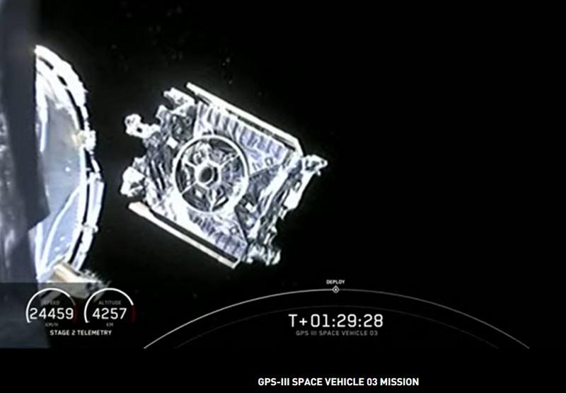 Falcon 9 (GPS III SV03) - CCAFS - 30.6.2020 - Page 2 Gps310