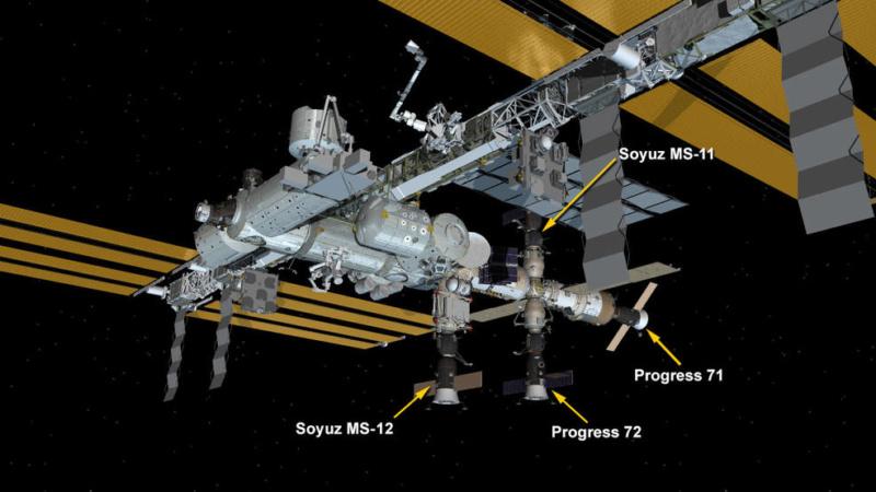 Soyouz-2.1a (Progress MS-11) - Baï - 04.04.2019 - Page 2 Iss_0410