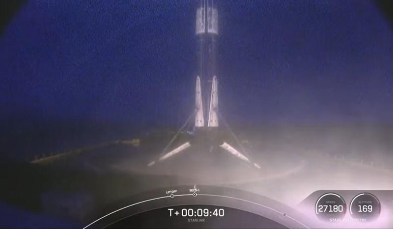 Falcon 9 (Starlink v1.0 L21) - KSC - 14.3.2021 Starli31