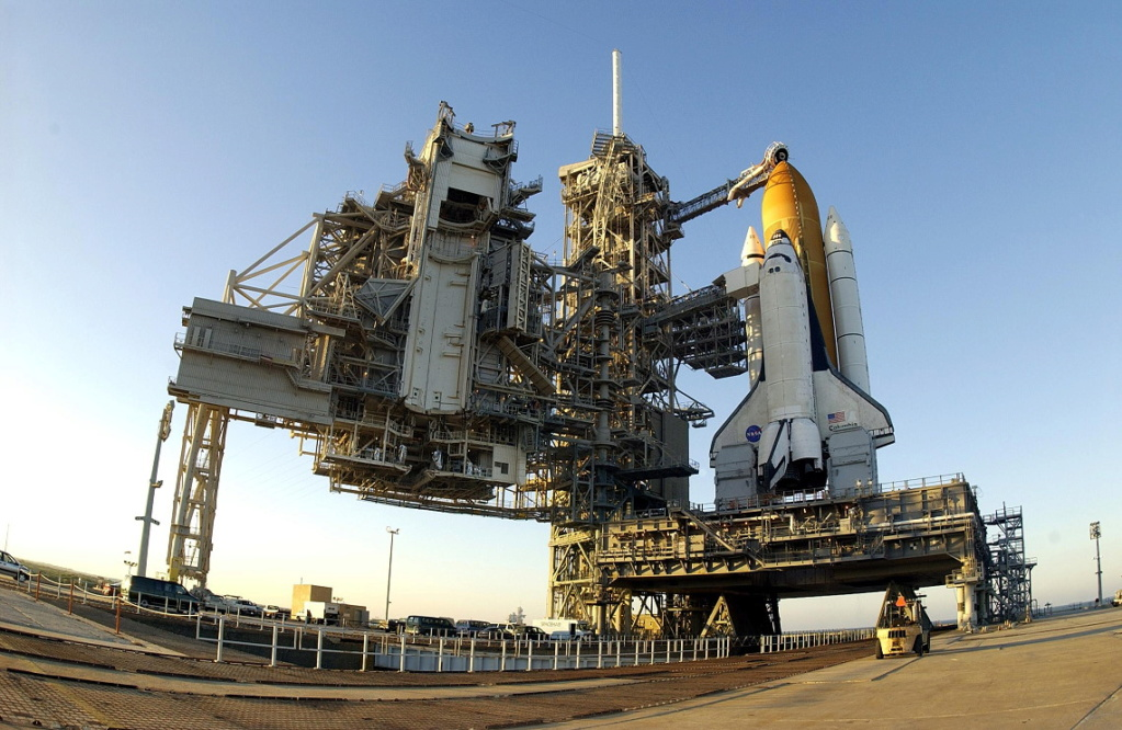 Avez vous des photos de l'orbiteur Columbia ? Sts-1010