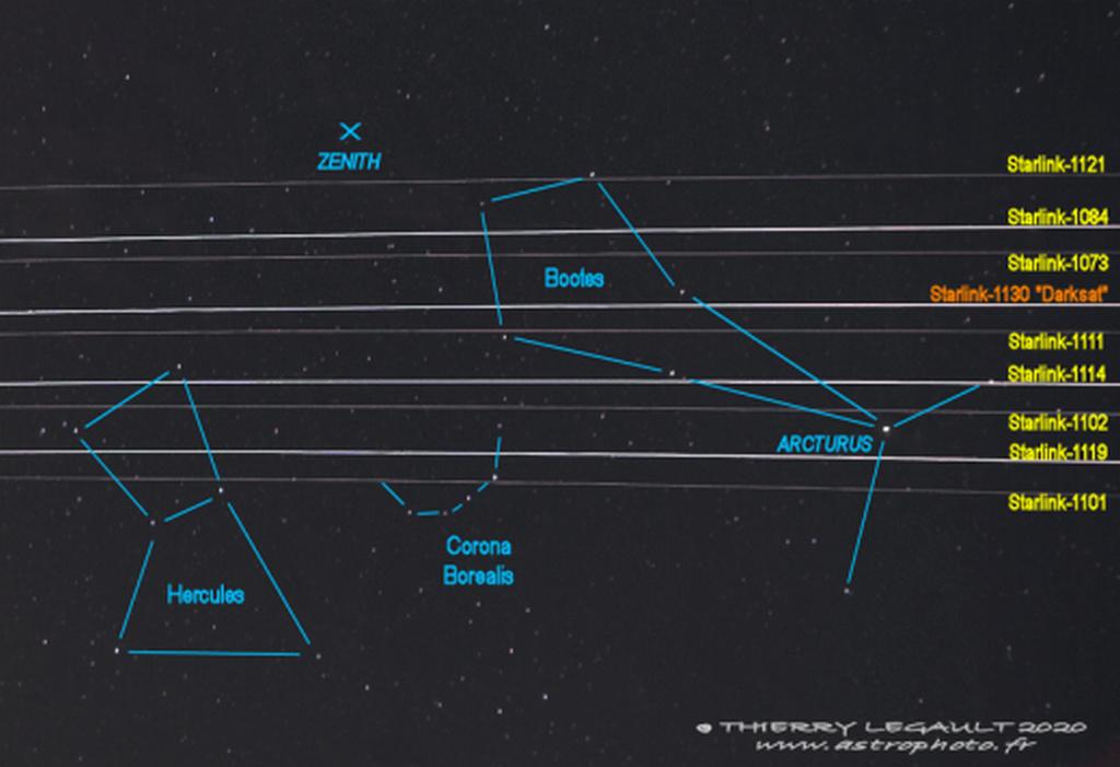Pollution lumineuses des satellites Starlink et réaction de SpaceX - Page 3 Thierr10