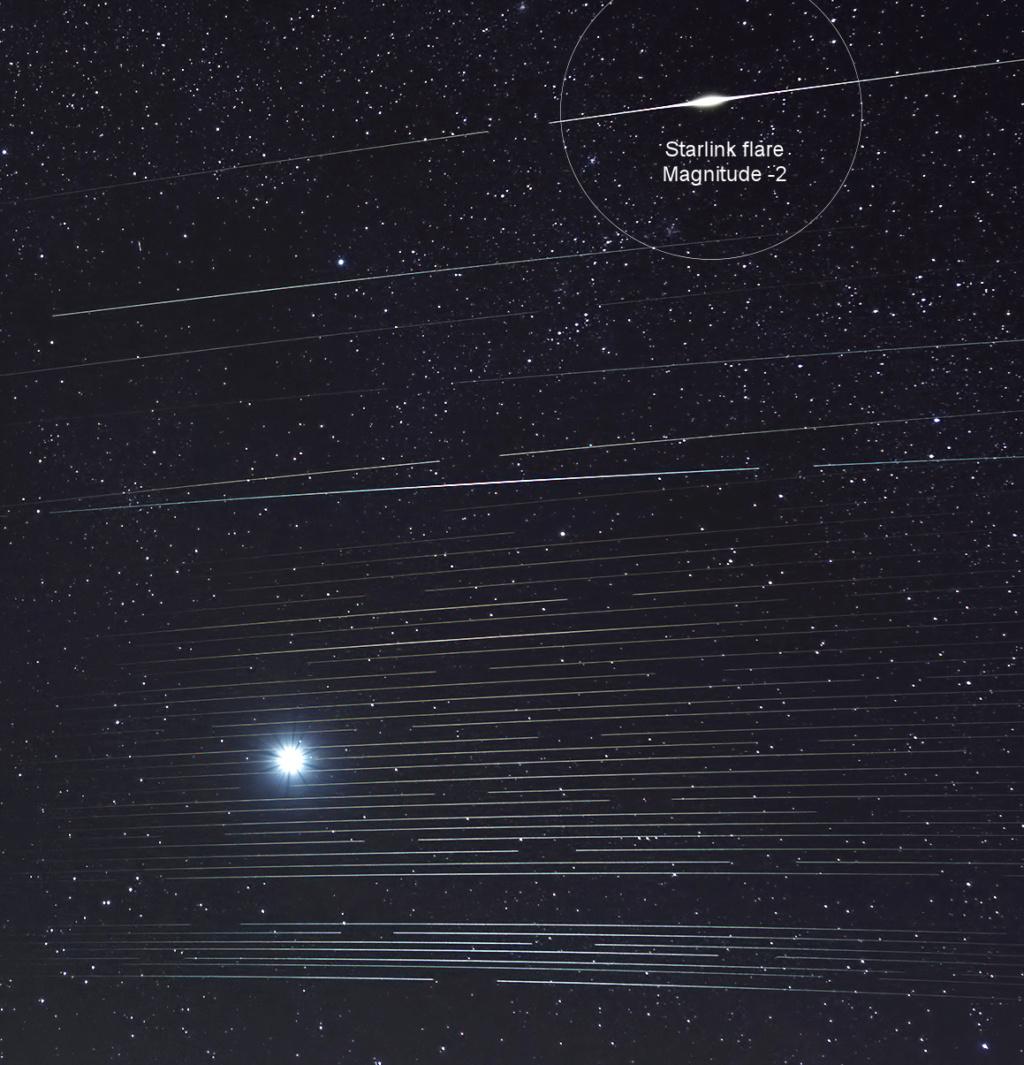 Pollution lumineuses des satellites Starlink et réaction de SpaceX - Page 7 Venus_10