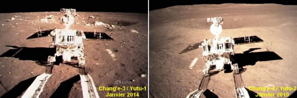 Chang'e 4 - Mission sur la face cachée de la Lune (rover Yutu 2) - Page 7 Yutu10