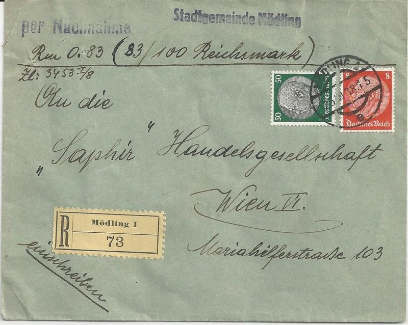 Österreich im III. Reich (Ostmark) Belege - Seite 9 Bild18