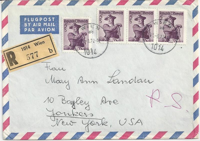 Trachtenserien ANK 887 - 923 und 1052 - 1072 Belege - Seite 9 Bild19