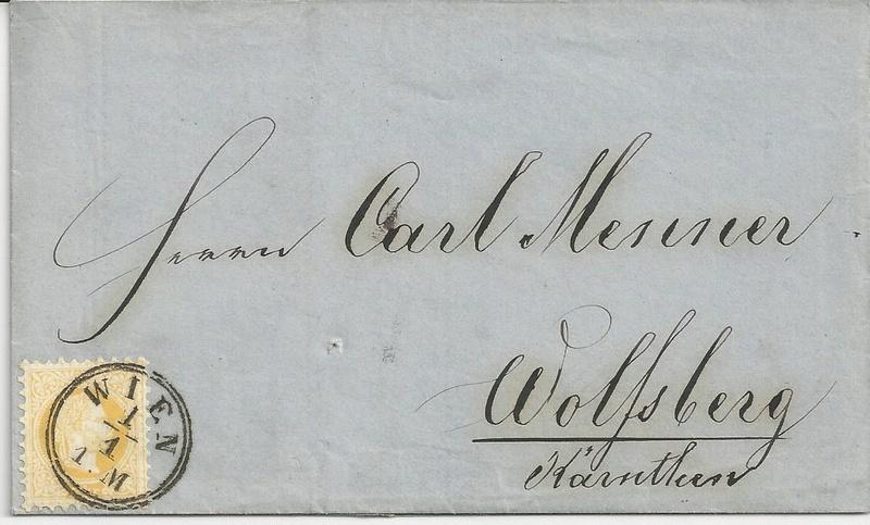 Freimarken-Ausgabe 1867 : Kopfbildnis Kaiser Franz Joseph I - Seite 15 Bild24