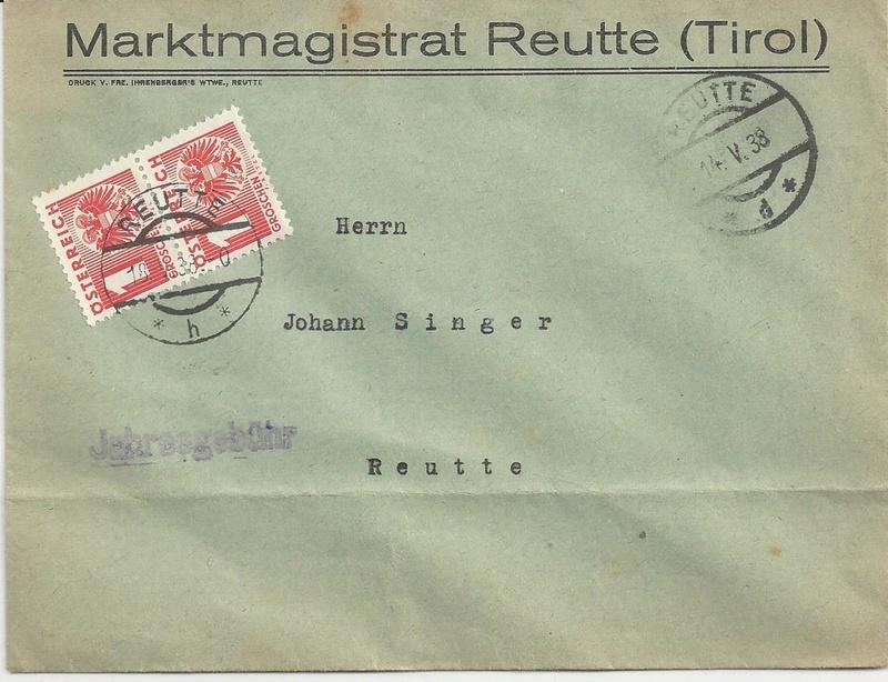 Österreich im III. Reich (Ostmark) Belege - Seite 9 Bild26