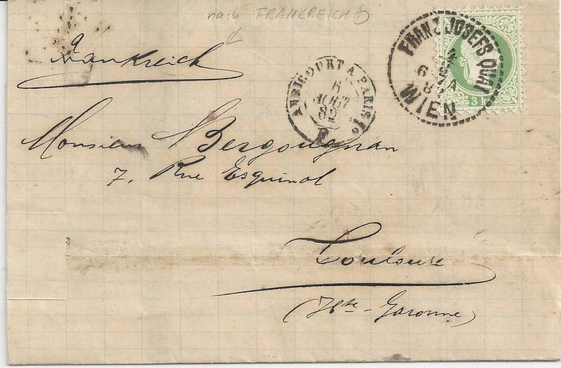 Freimarken-Ausgabe 1867 : Kopfbildnis Kaiser Franz Joseph I - Seite 16 Bild30