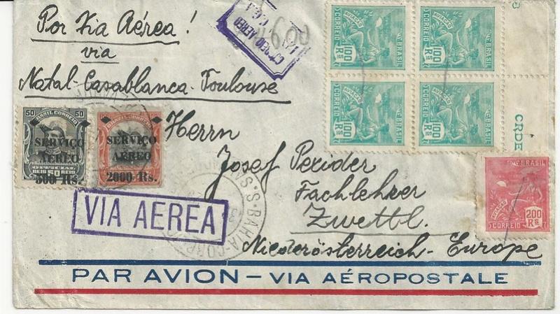 nach - Flugpost nach Österreich - Seite 2 Bild34