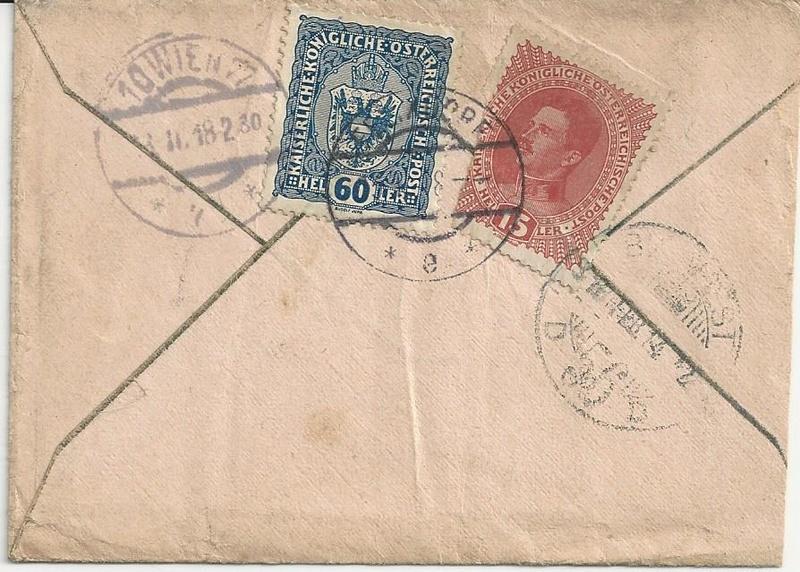Die Auslandsexpreßgebühr ab 1.9.1918 Bild_321