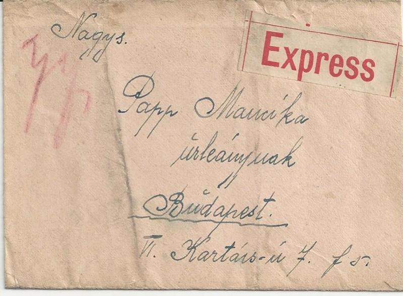 Die Auslandsexpreßgebühr ab 1.9.1918 Bild_417