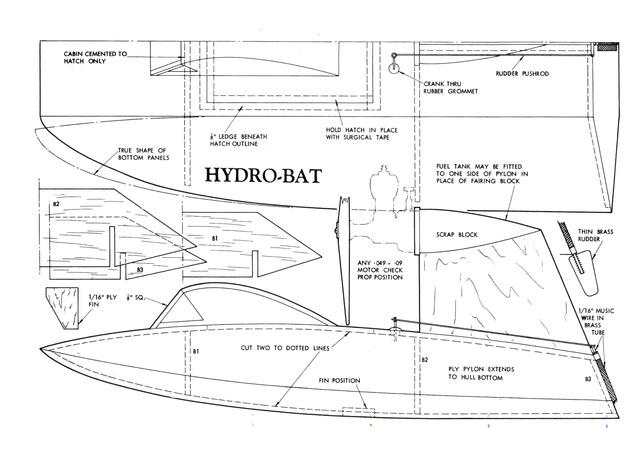 Hydro-bat by Vic Smeed: engine probs Hydrob10