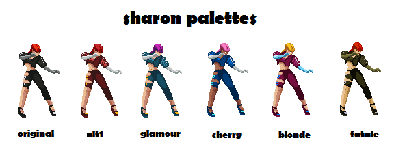 Sharon from street fighter EX released! - Page 2 Sharon10