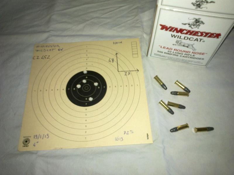 quel munition pour la 22lr 04082010