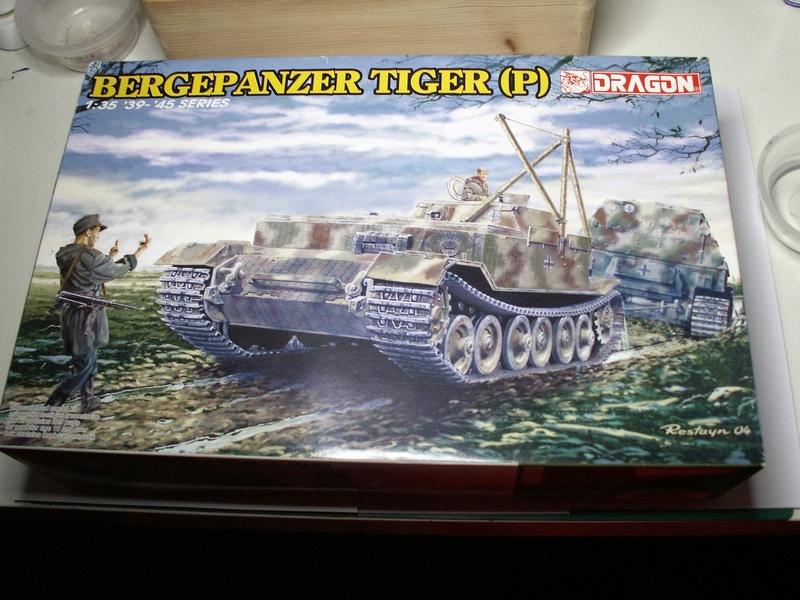 Bergepanzer tiger (p) de dragon au 1:35 montage a à z de Cricri d'amour Pict0792