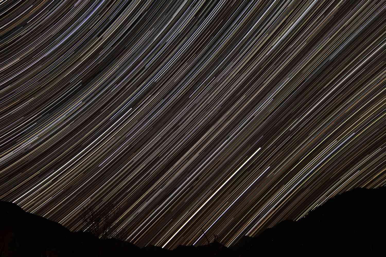 Filés d'étoiles et time-lapse Starma10