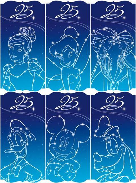 Les produits dérivés du 25ème anniversaire de Disneyland Paris 15977910
