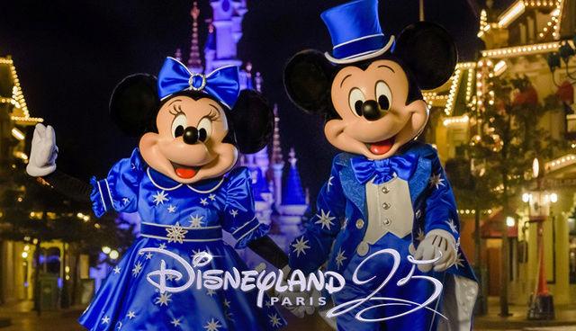 Les produits dérivés du 25ème anniversaire de Disneyland Paris 9343fa10