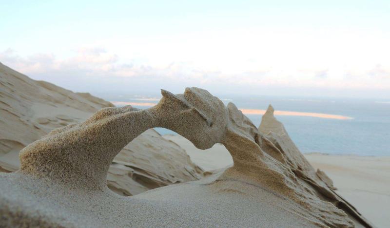 Photos insolites de la dune du Pyla - Gironde Bassin10