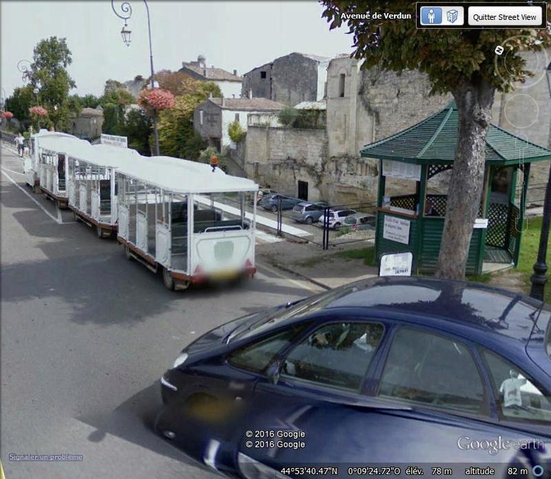 STREET VIEW : les petits trains touristiques Dl10