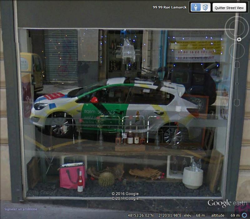 STREET VIEW : reflets de Google-Car Ff10