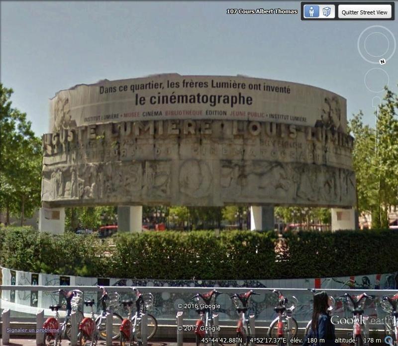Le Monument aux Frères Lumière - Lyon - Rhône - France Gh10