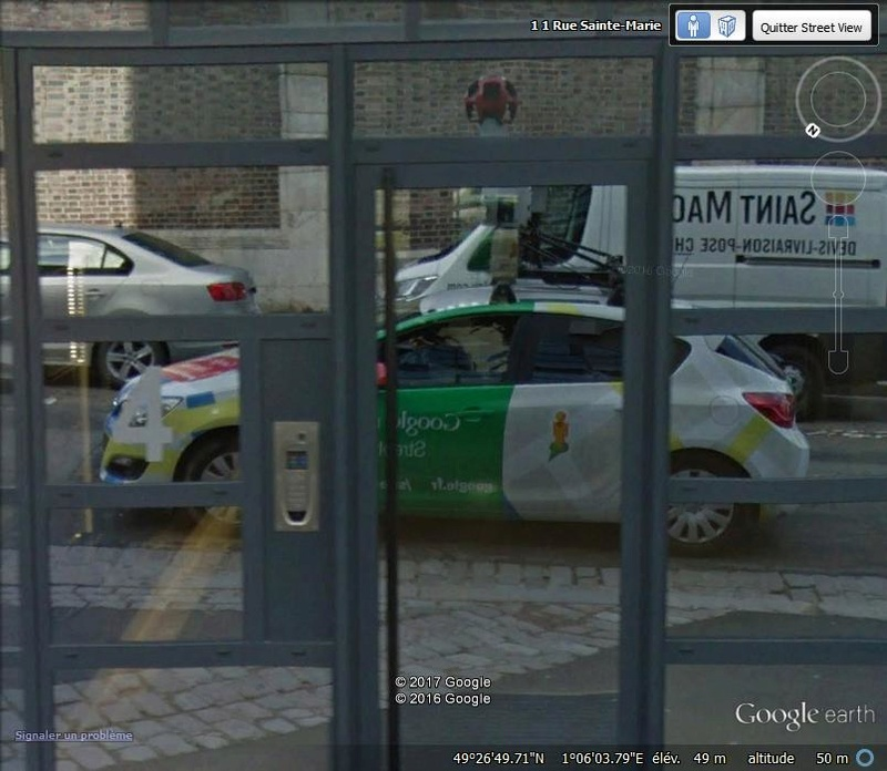 STREET VIEW : reflets de Google-Car Hj13