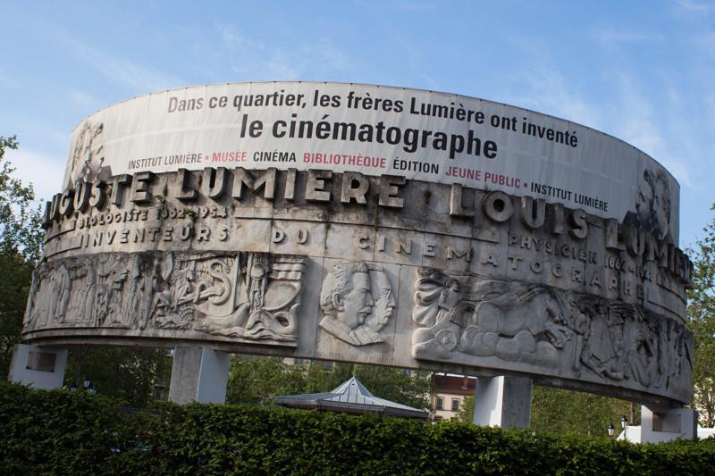 Le Monument aux Frères Lumière - Lyon - Rhône - France Lumier10