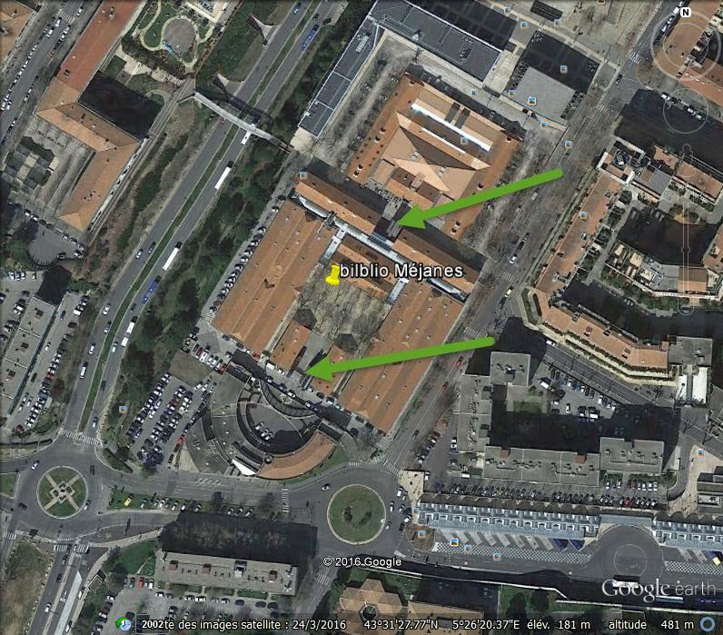 La bibliothèque Méjanes - Aix en Provence - Bouches du Rhône - France M13