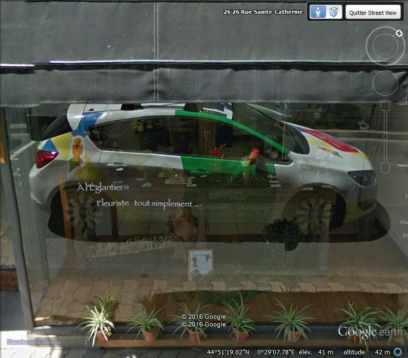 STREET VIEW : reflets de Google-Car P11