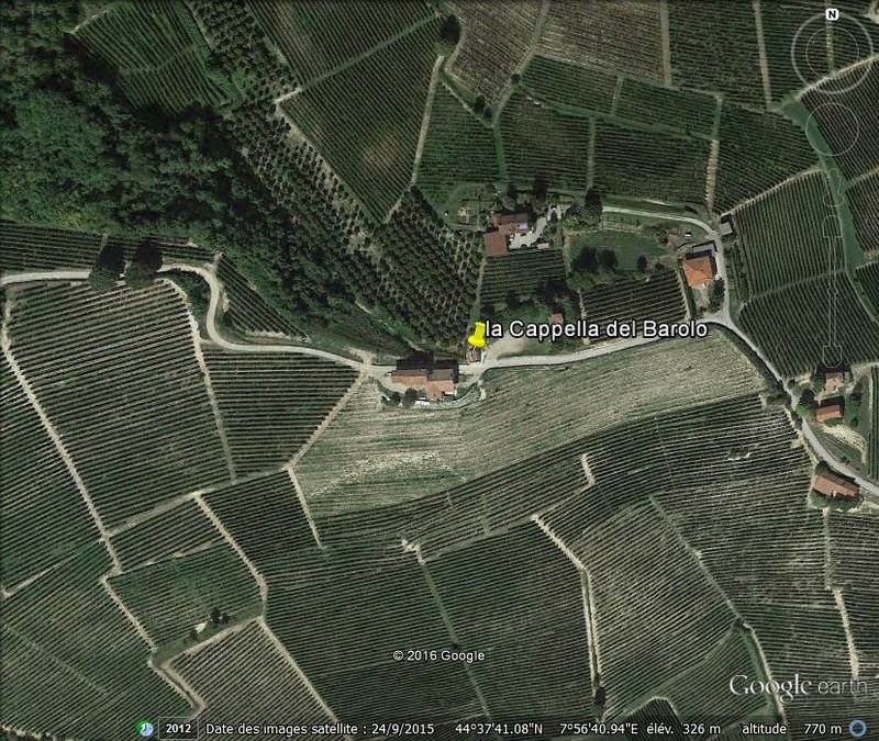 la Cappella del Barolo - La Morra - Italie V22