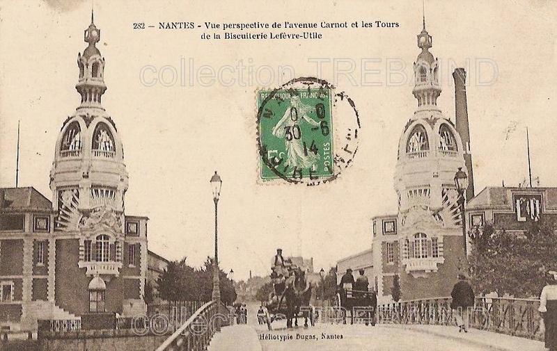 La tour LU - Nantes - Loire Atlantique - France V410