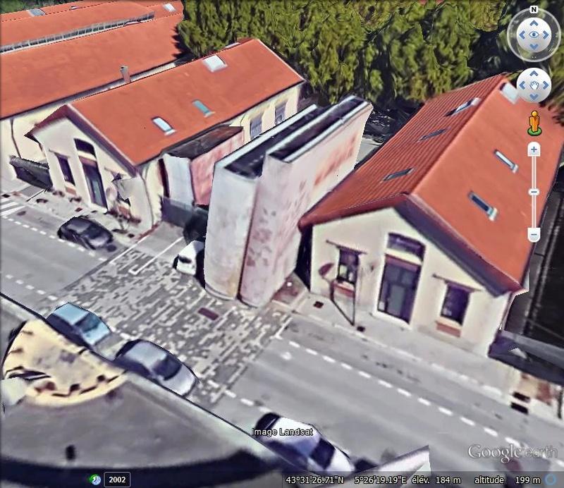 La bibliothèque Méjanes - Aix en Provence - Bouches du Rhône - France V46