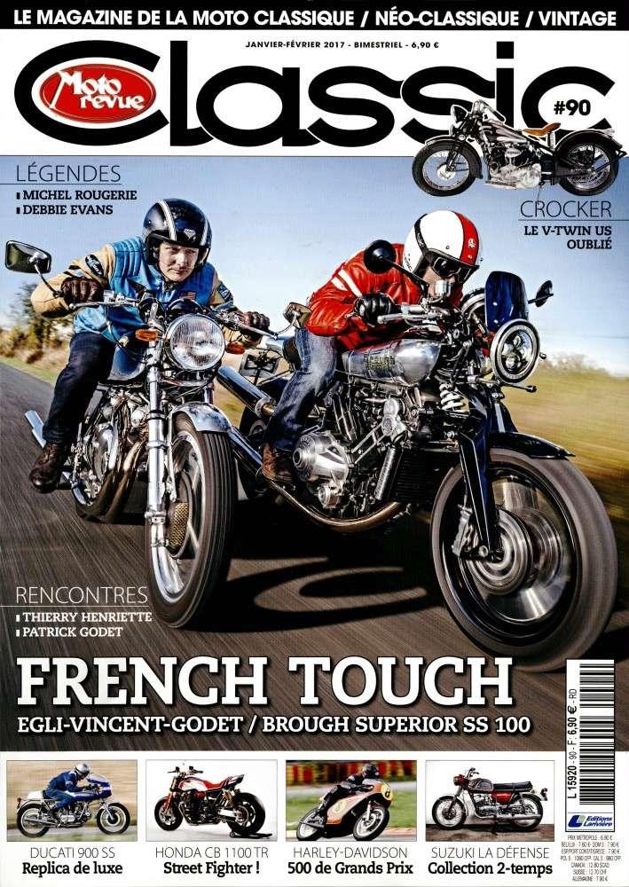 Moto revue classic:Harley 500 et Egli Vincent Godet.... Mrclas10