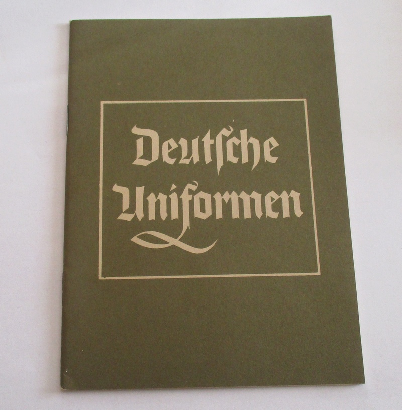 "fascicule ""deutsche uniformen"" 1938 Img_7611"