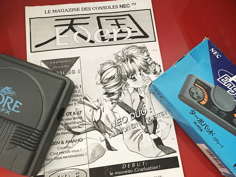 Video Live : Fanzine Eden et PC-Engine Eden10