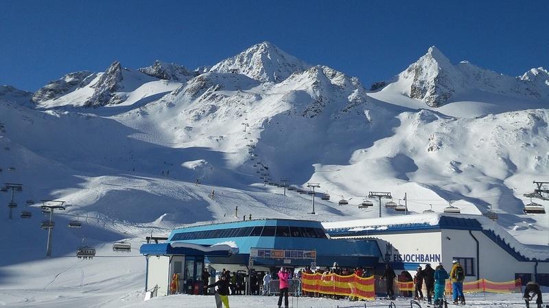 La neige en montagne ... Alps-110