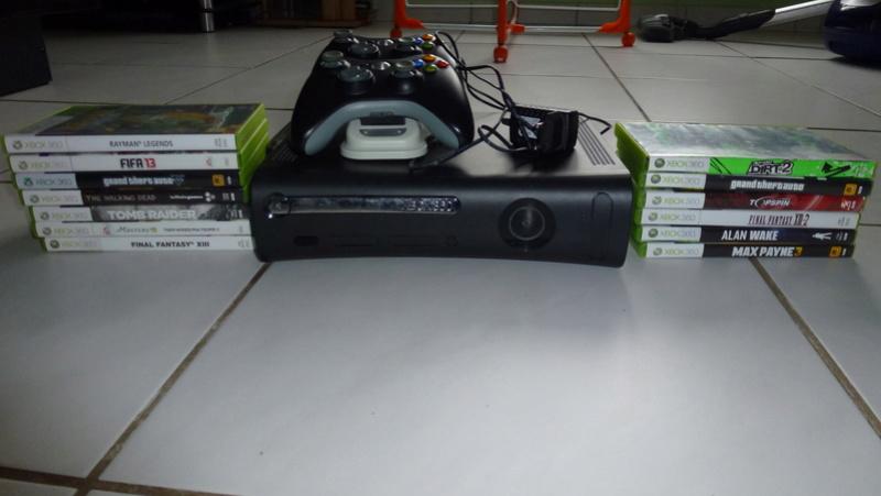 estim XBOX 360 + 13 jeux 05410