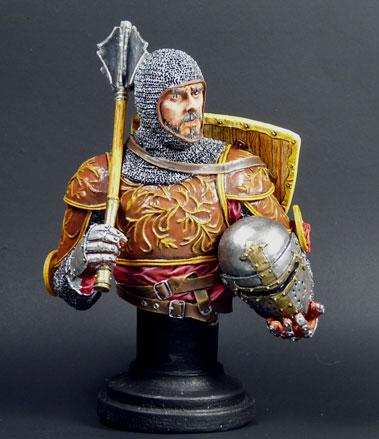XIVe siècle monté chevalier italien, MJ Miniatures, 1/10 Knight10