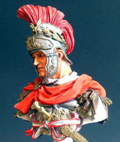 Officier de cavalerie romaine, 180 av. J.-C., 1/10, Young Miniatures Rom_ca10