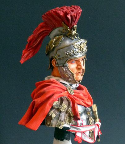 Officier de cavalerie romaine, 180 av. J.-C., 1/10, Young Miniatures Rom_ca12