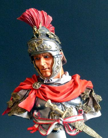 Officier de cavalerie romaine, 180 av. J.-C., 1/10, Young Miniatures Rom_ca13