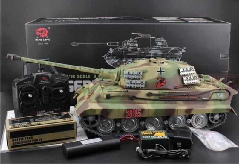 NIB M1A1 Abrams, King Tiger, Leopard 2A6 Kt10