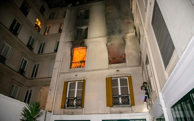 Incendie au travail de ma bru à Paris  888b0c12