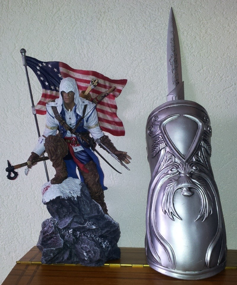 Assassin's Creed 3, figurine Connor Kenway 2013-014