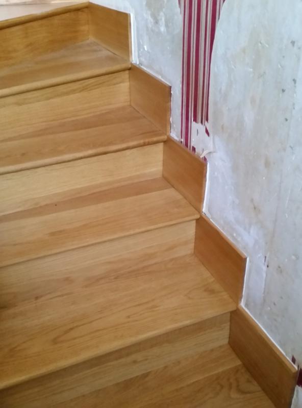 restauration des marche d'un escalier 20161110